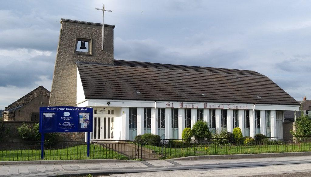 Scottish Parliament mention for St. Mark's