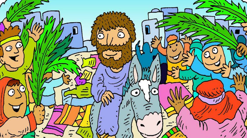 An Easter Story, Palm Sunday.